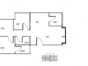 都市花园三居室毛坯房支持按揭!看房方便!价格低于市场价!