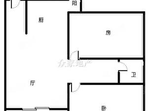 友谊茗城电梯毛坯2房.有钥匙有房产证可过户