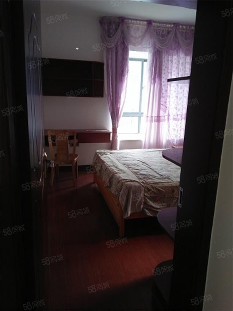 荟萃中央精装修2房2厅1卫拎包入住随时看房