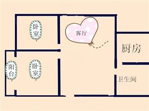 闫浅花园车库上1楼,毛坯新房2室2厅送储,首付20万