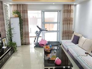 赵王河畔中央公馆精装修三居室全明户型老证黄金楼层带家具家电