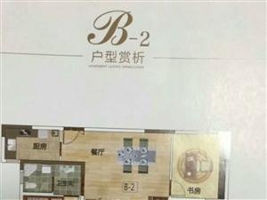 观湖壹号小高层,售楼部签一手合同,首付百分之40