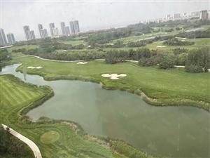 龙口绿庭融园酒店式公寓高尔夫球场在您家