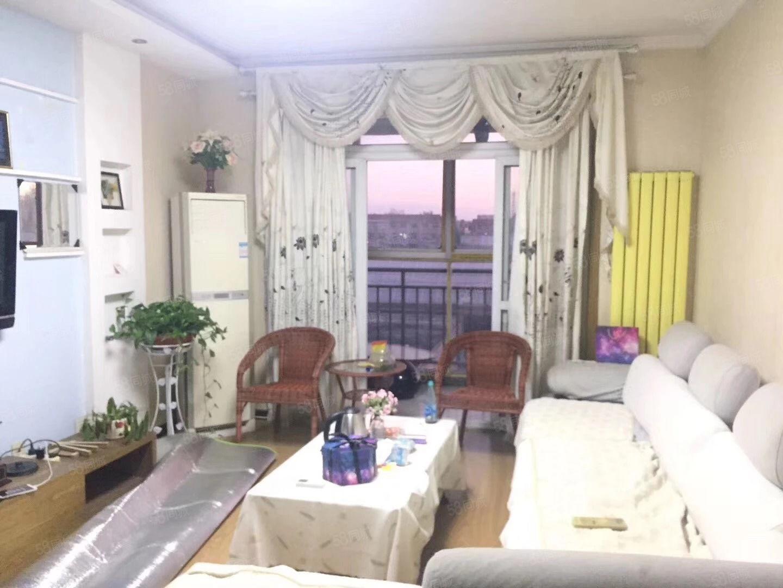 中豫世纪城一期步梯5楼80平方两室精装家具家电齐全22万甩卖
