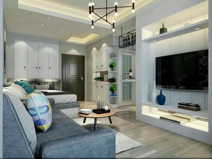 星球欧洲城邦精致小公寓一室一厅一卫采光极好适宜居住