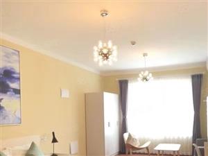 龙湖精装公寓养马岛对面龙湖天街可长租可短租带家具家电