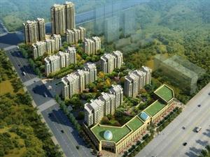 85万售荣润首府电梯房低层约117平米毛坯,配有12平车库