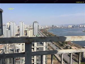 竹园华府175.83平米江景房,270度俯瞰汉江,产证满2