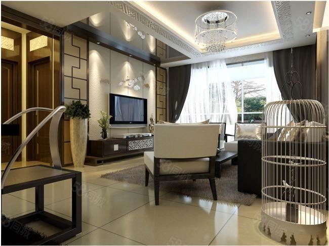 万达华城成熟地段电梯高层办公装修经典二房86万诚意出售送车库