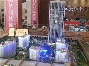 世界500强华强城市广场首付2万,均价8000双气小户型