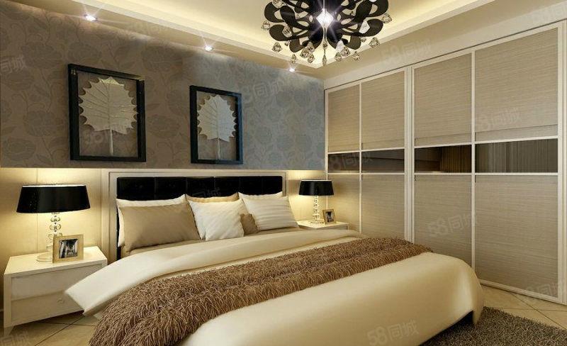 中央公馆邻近万达精装公寓采光极好家具全送