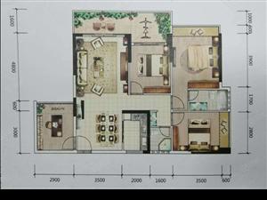 翰林苑靓楼层:116.5平方4房2厅仅售6780元/方