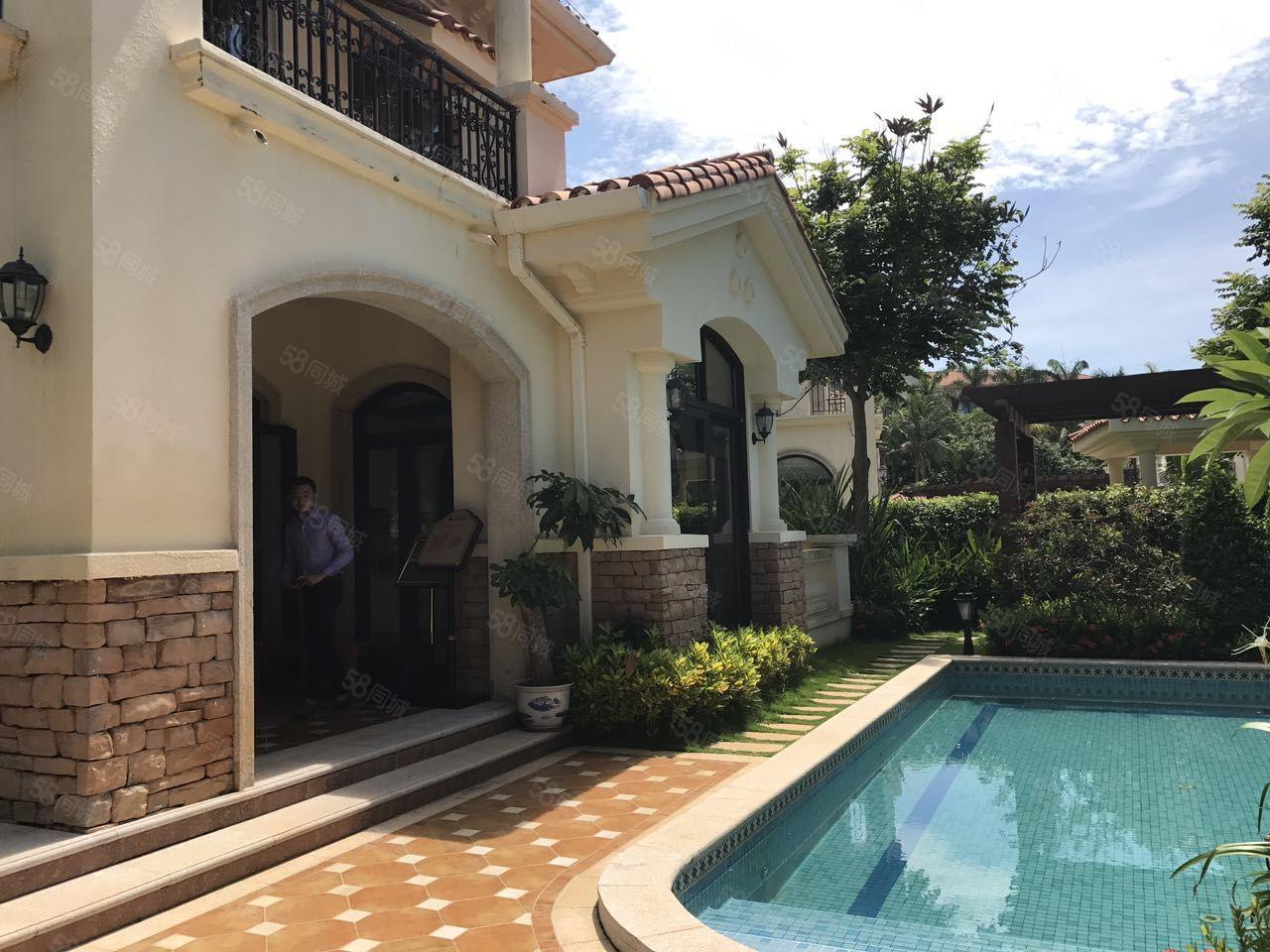 金泰南燕湾现房一线海景独栋别墅海景高尔夫带车位花园泳池