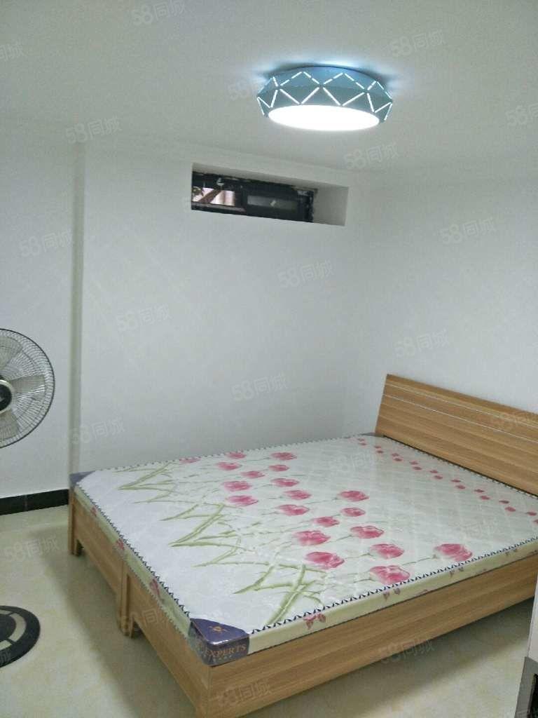 华南城旁宽视界简装四房便宜出租可做员工宿舍免物业费