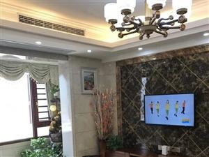 美伦东锦缘电梯高层豪装4房,三面采光靠河边,只卖129.5万
