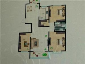 神州明珠12楼115平米3室2厅毛坯可按揭