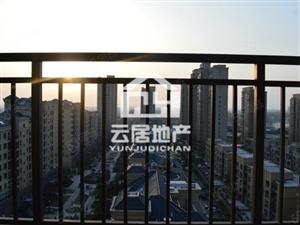 御景园毛坯房三居室户型方正南北通透两室朝南双阳台