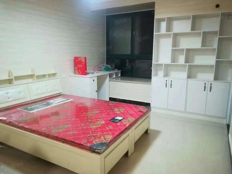 格林绿色港湾精装单身公寓,电梯中层,家电家具齐全,拎包入住