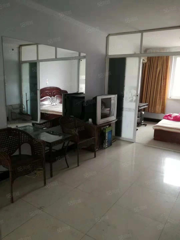 状元城可短付2室1厅简单装修家具家电齐全包取暖物业