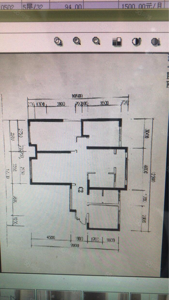 世纪大道。林凯城经典三室南北通透稀有房源。着急出售