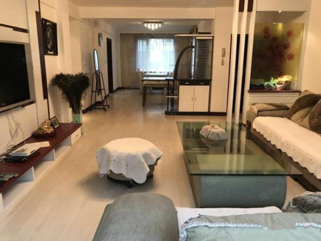 恒升现代城精装修3室家具家电包取暖封闭小区