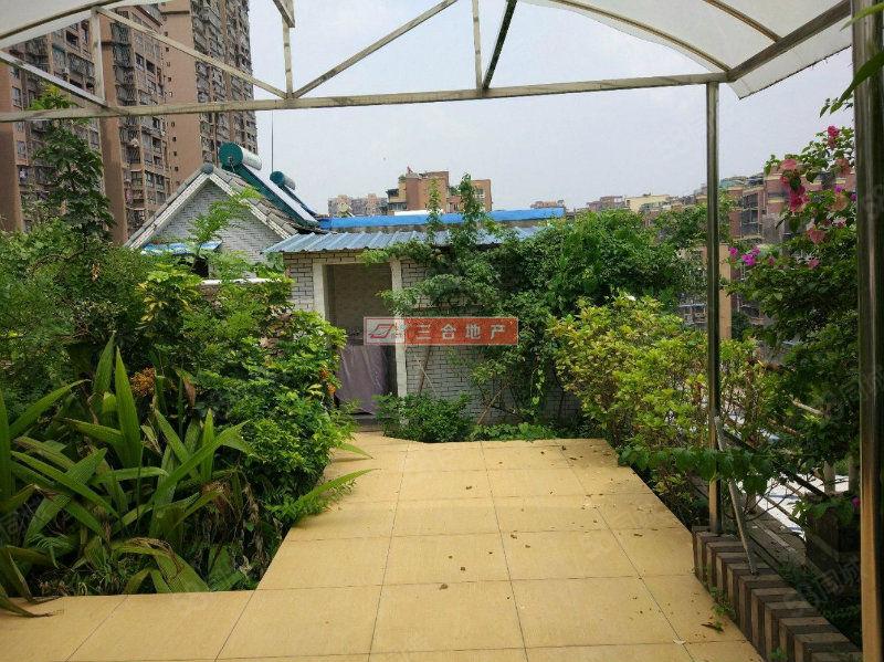 买就送超大楼顶花园香榭丽花园超大套三