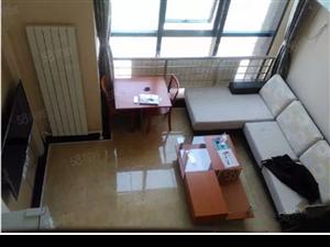 亿隆国际复式公寓一室设施全拎包住包取暖物业电梯