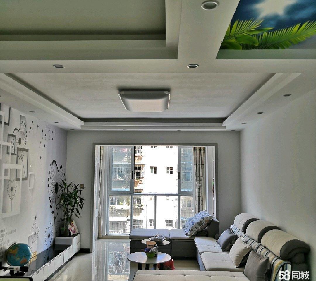 南坝六中旁品质新小区城南华府 新装修可首付 3室2厅2卫