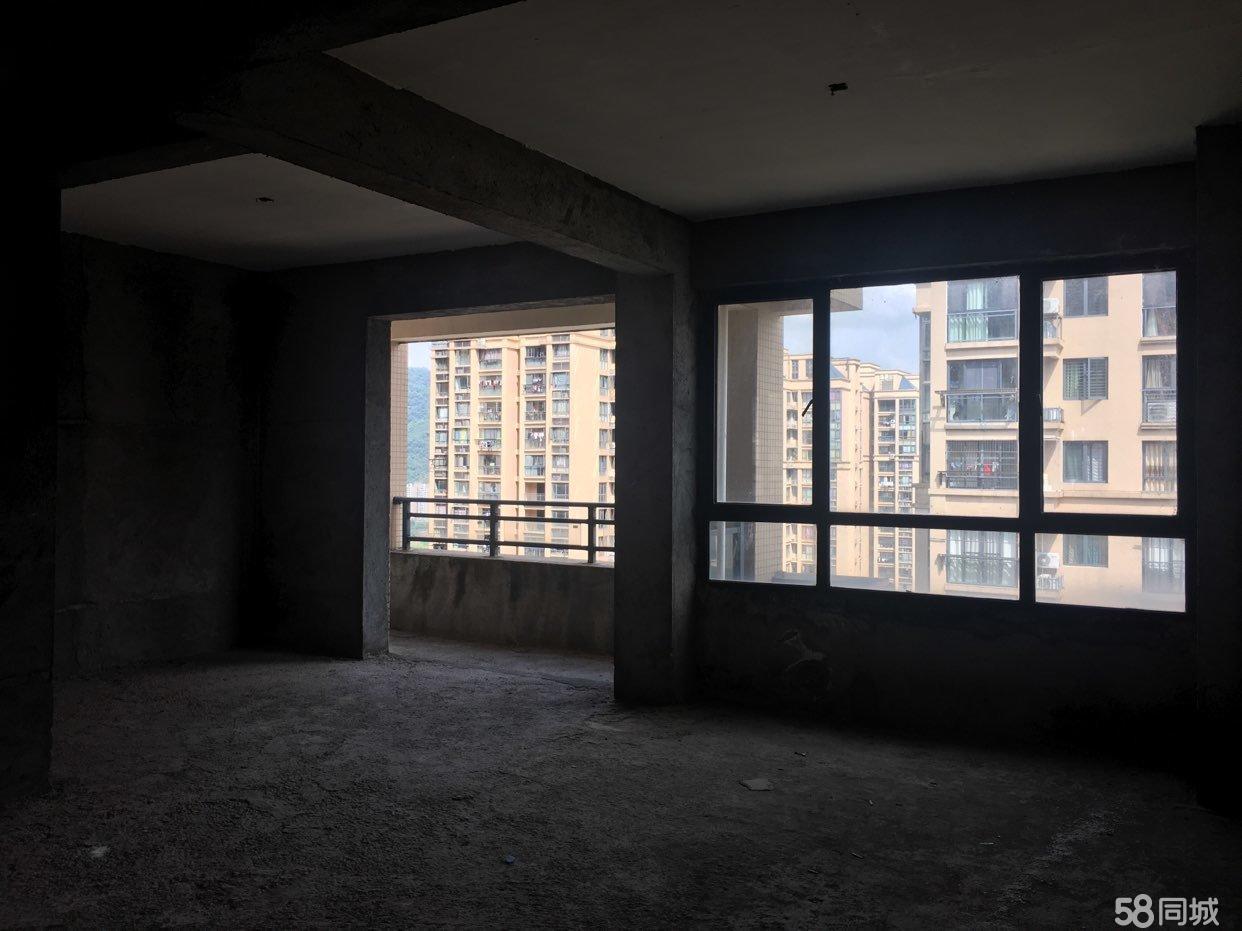 現房出售中層三室兩廳一衛雙陽臺贈送雙飄窗