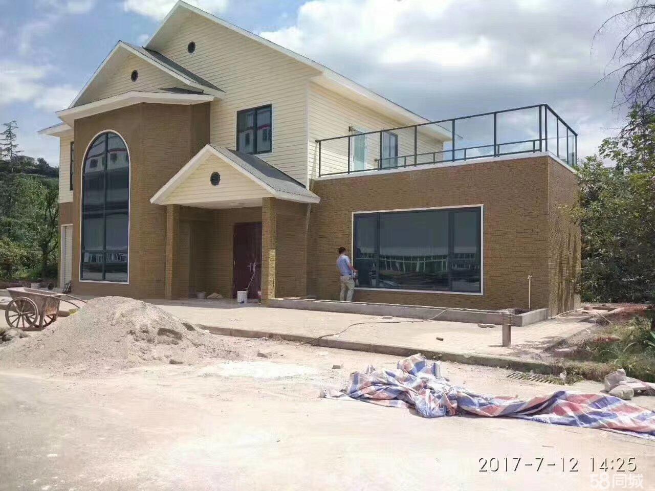 承接修建轻钢别墅3室2厅2卫
