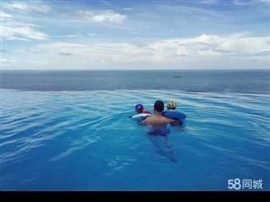 粤港澳后花园躺在床上看大海一线海景房月收租五六千