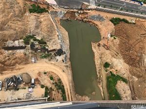 未来城全景30亩人工湖,观看空港大道,无敌视野。