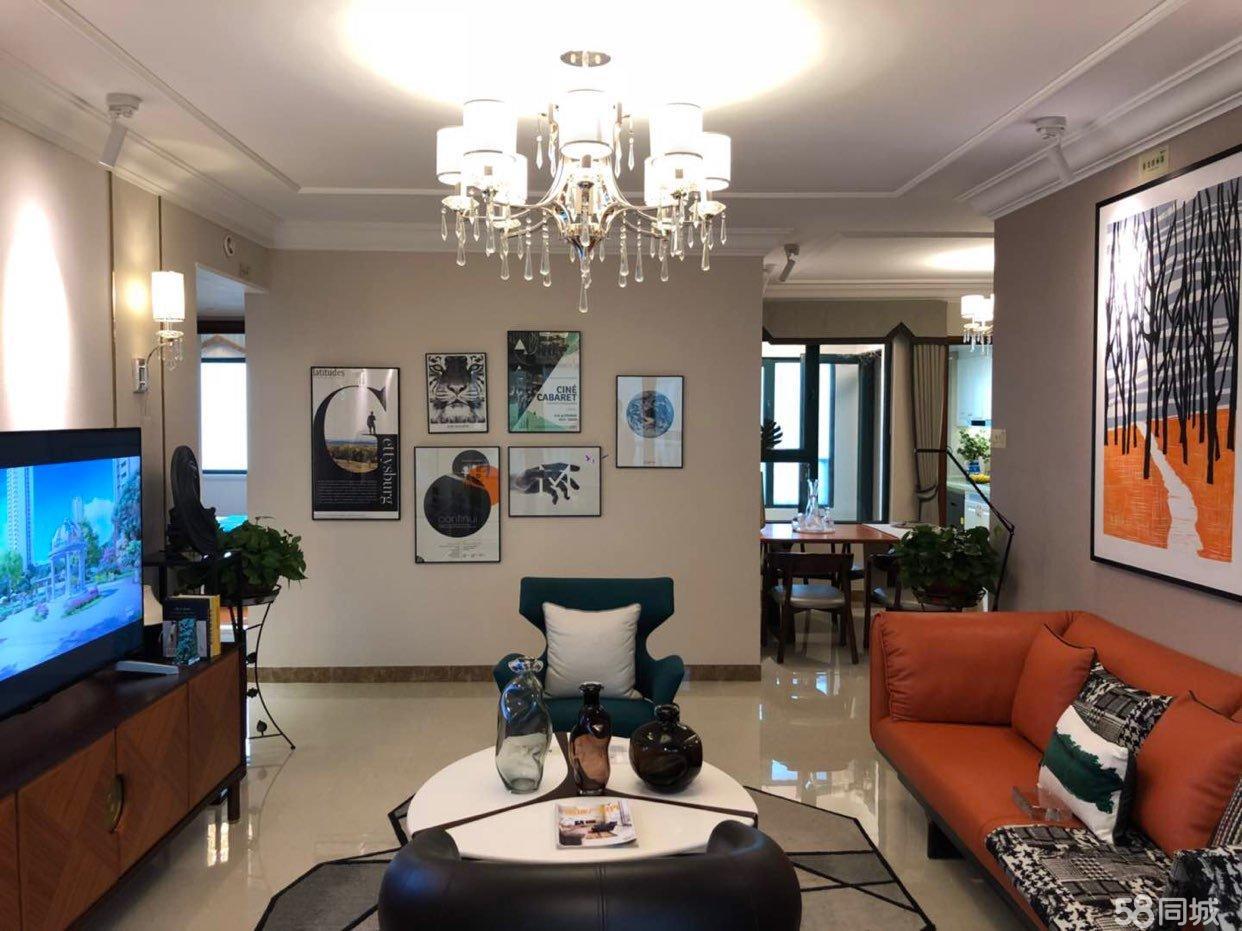 恒大绿洲3室2厅2卫精装新房湖景房