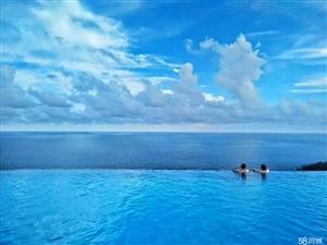 大海无限延伸天际泳池一线海景房不限购包装修月收租3500
