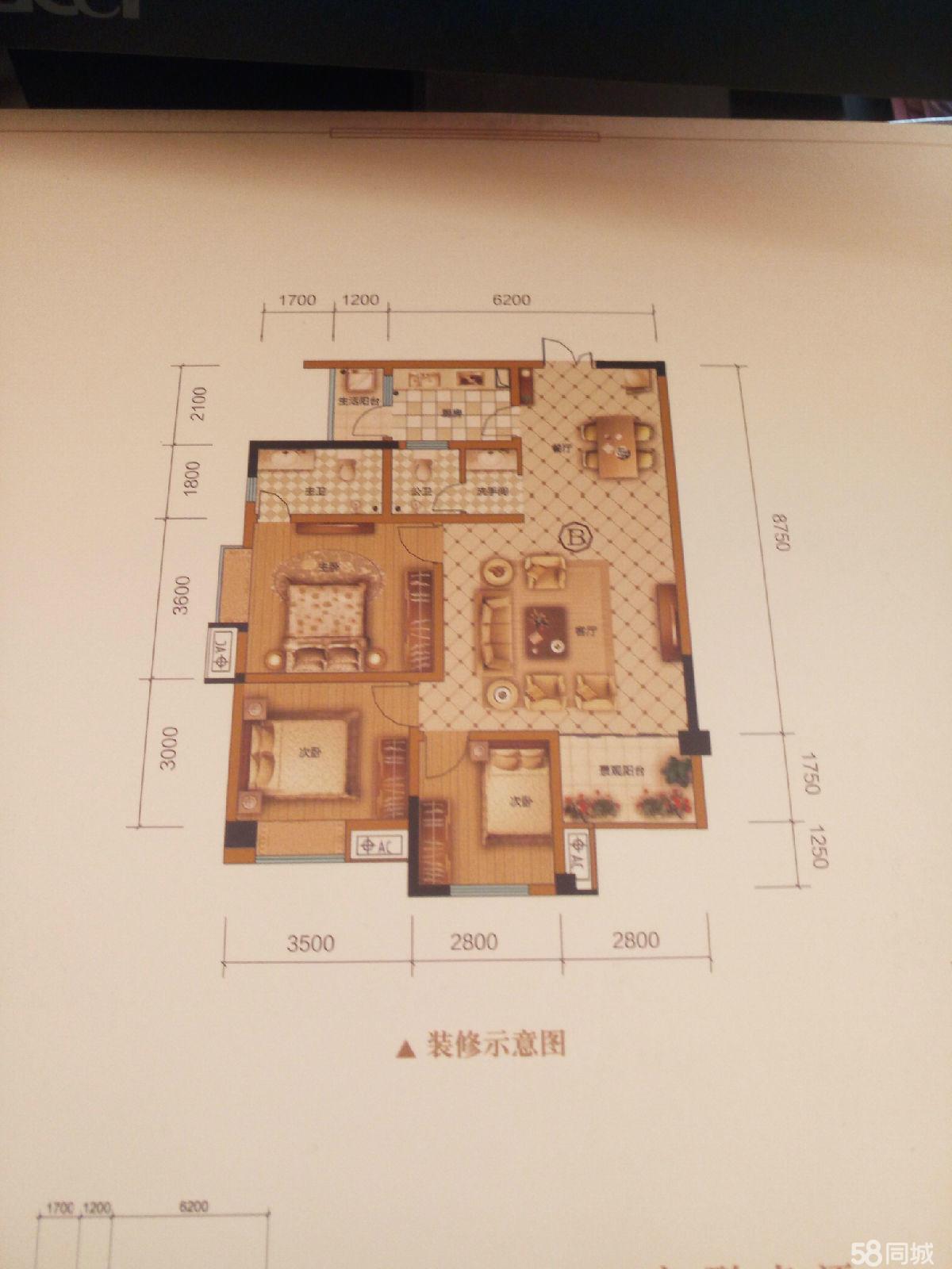 澳门拉斯维加斯赌场宇通洪瑞国际3室2厅2卫110.12平米