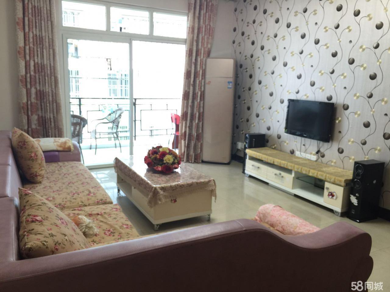 北门滨江雅居精装小三室家具家电齐全直接拎包入满两年无营业税