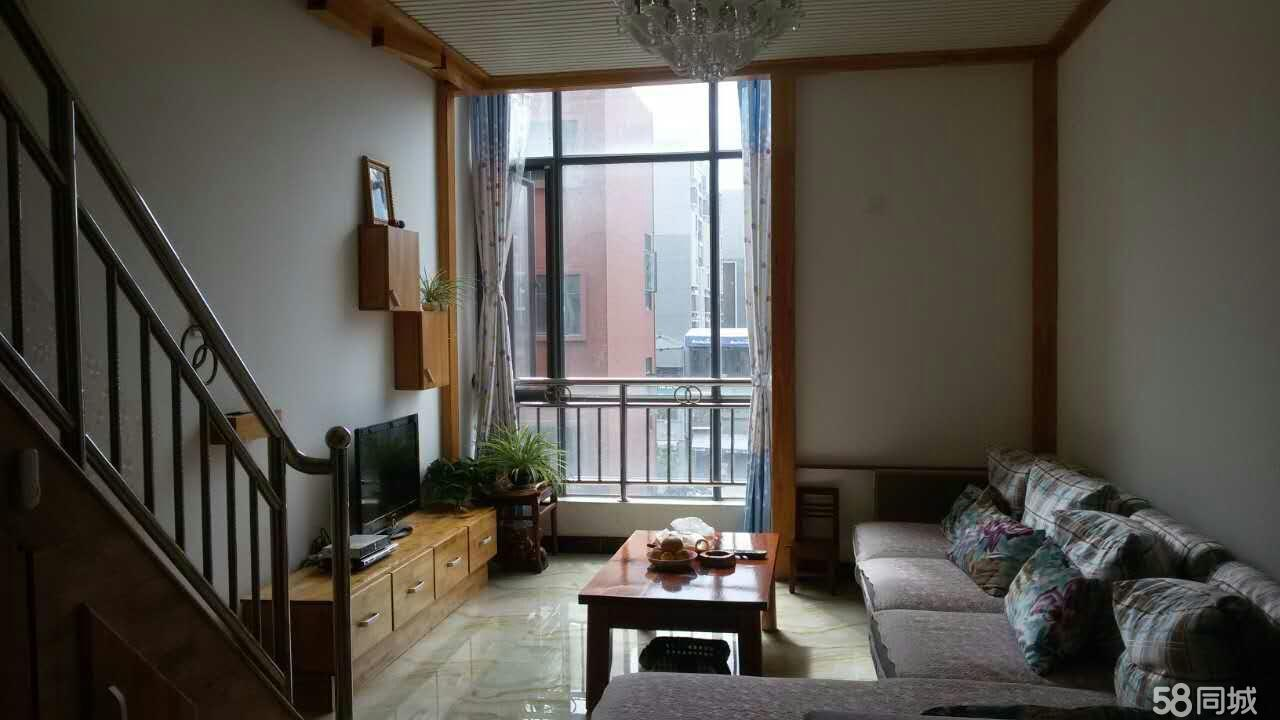 思茅阳光新城二期小复式楼,带部分家具3室2厅2卫90