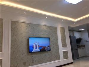 典逸心洲精装1室1厅包取暖物业电梯家电家具齐全12楼