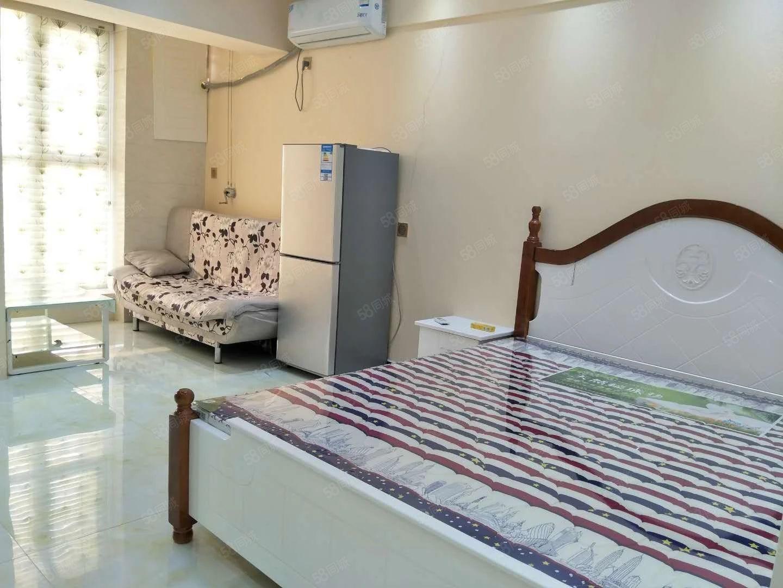 金博大西塔,精装一室一厅,46平方米,采光好,家具家电全送!