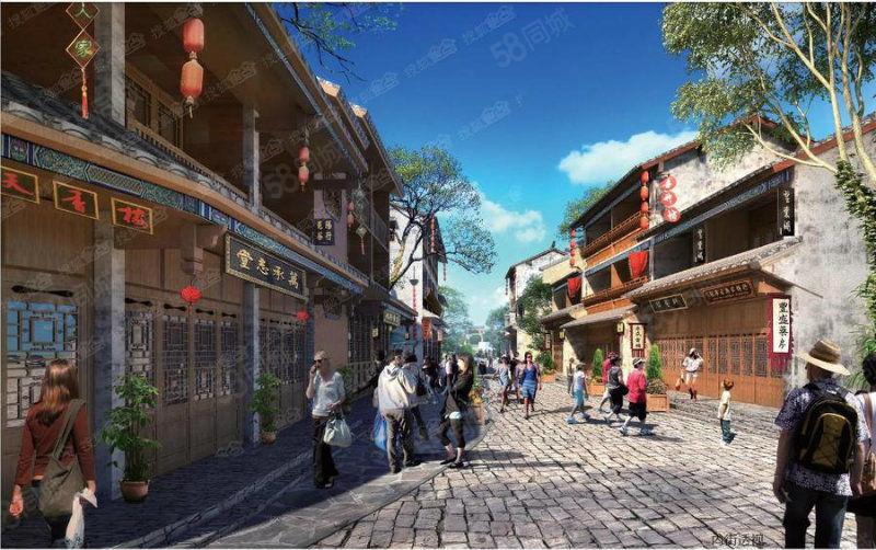 临街商铺5.4米层高20300抚仙湖边广龙旅游小镇
