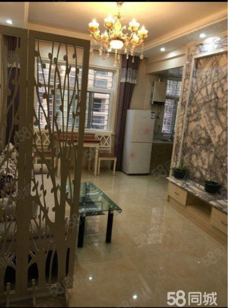 竹林广场豪华装修2室只要1800/月再不租又没有了~