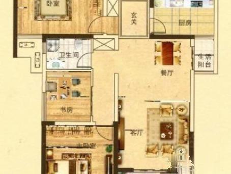 万众E家86平两室房联行推出就一套可贷款