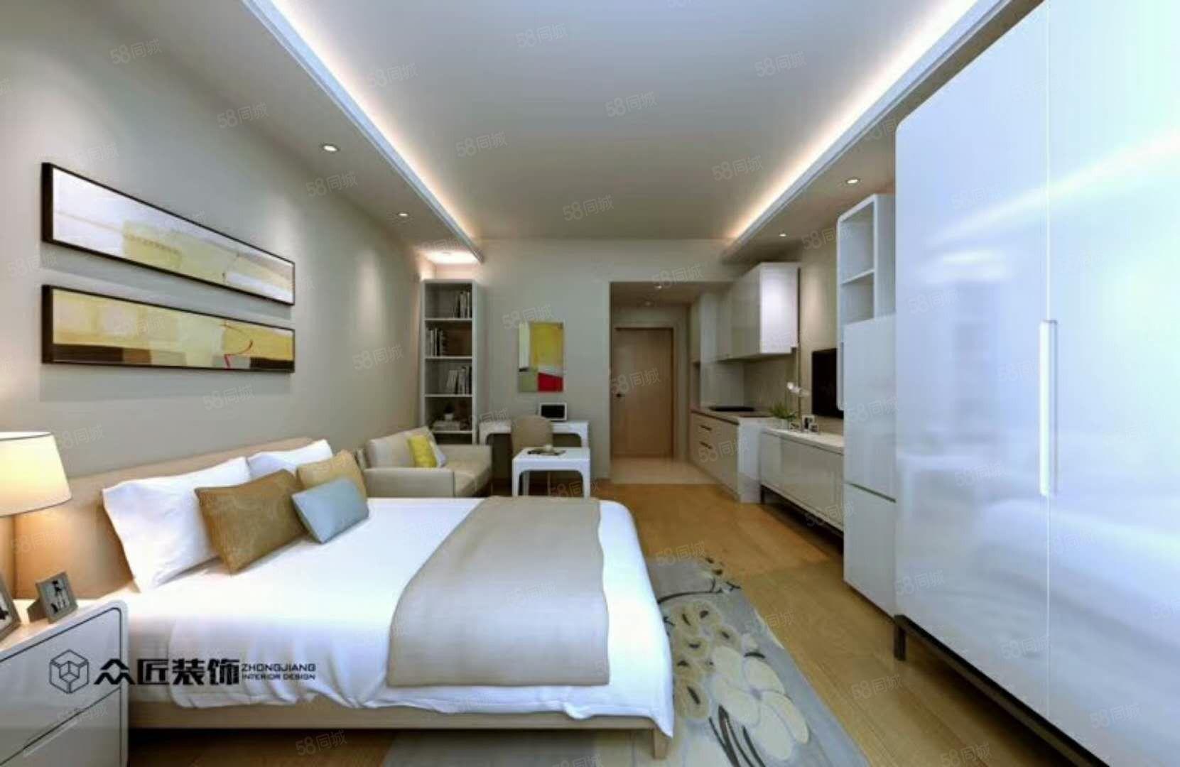 嘉宁花园单身公寓现房出售70年产权免费更名,家和房产代理。