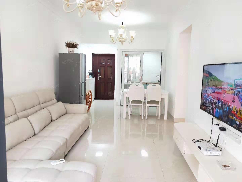南亚郦都豪华装修两房家私家电齐全高档小区1800!