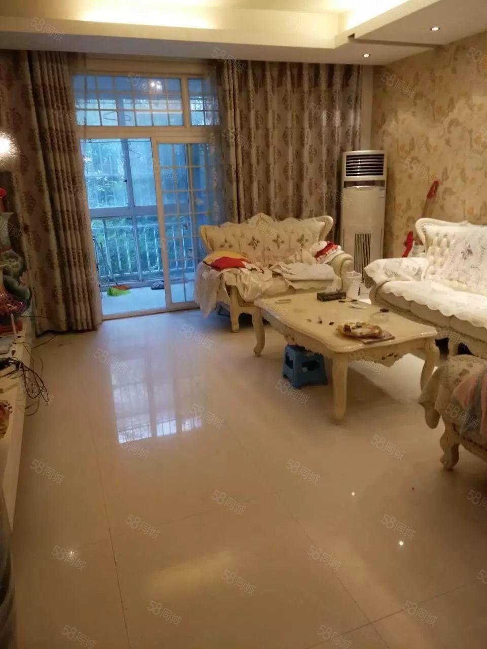 兰亭3期1楼2楼复式带100平院、精装修带家具家电、