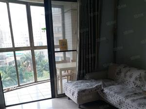 世贸旁《禧福新城》正规一房一厅高档小区带阳台