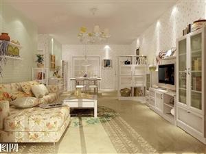 燕青小区1楼3室院子已封家具家电1100/月