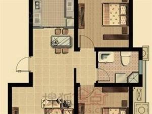 诺邦房产龙溪水岸北区毛坯两室好户型,南北通透,只要50万!
