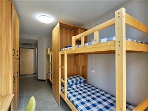 青年酒店公寓城阳家佳源附近可月付包水电拎包入住