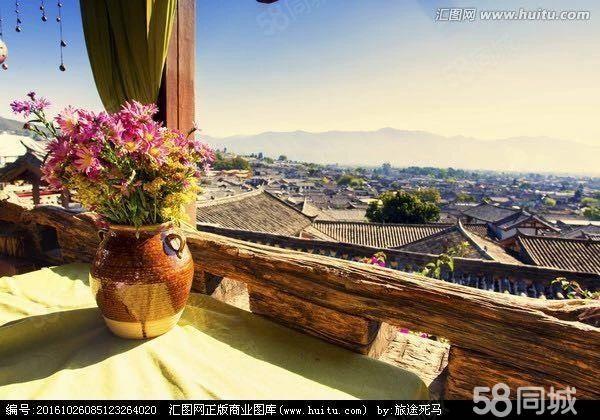 近湖私家庭院实木雕花四合院抚仙湖广龙小镇